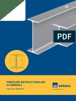 (Gerdau) Perfiles Estructurales W