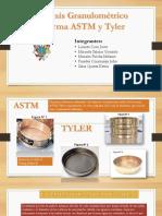 Analisis Granulometrico Por Tamizado Norma ASTM