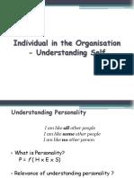 PPT_ ISTD OB Self -Ind Beh Pernlity # 2