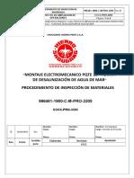 Cccc-pro-3205- Proc. de Inspección de Materiales