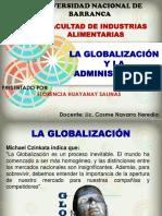 La Globalizacion y La Admisntracion