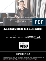 Presentación de Alexander Callegari