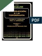 Introducción a La Topografía - James R. &Amp; Roy H. Wirshing - Schaum