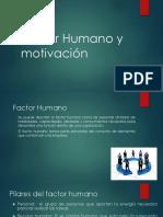 Factor Humano y Motivacion