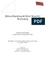 Ethical Hacking CS Brochure