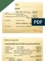 Costuri Estimative - Comparative - 2