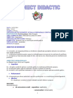 Proiect de Lecţie Matematica Inspectie Vineri