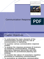 Communication Response Models