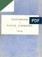 Handbook of Naval Cookery