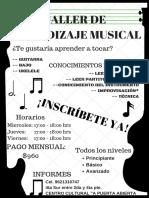 Taller de Aprendizaje Musical