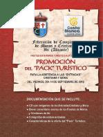 Presentación Pack Turístico