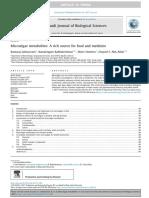 Microalgae Metabolites