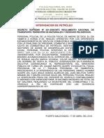 Nota de Prensa Nº 065 de Policía de Madre de Dios