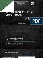 Entrevistas y Focus Group