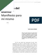 La Poética Del Disenso. Emilio García Whebi