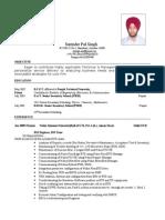 Surinder CV Updated