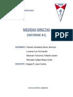 Informe 1 Med Directas x Jher