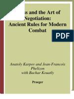 Karpov, Anatoli - Chess & the Art of Negotiation