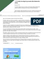 Galicia. La Fiscalía de A C..