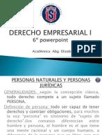 Sexto Powerpoint Derecho Empresarial