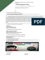 Prueba de Diagnóstico 5 Lenguaje