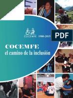 1980 2015 COCEMFE El Camino de La Inclusion