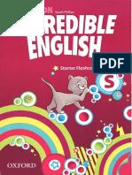 Incredible English Starter Flashcards