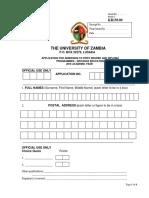 Undergraduate Application Form-2016