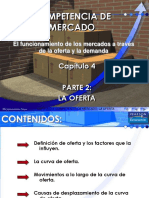 Clase 5 La Oferta