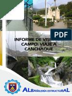 Informe Viaje Canchaque - Ae