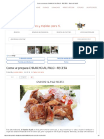 Como Se Prepara Chancho Al Palo - Receta _ Sabor & Sazón