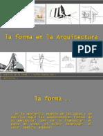 La Forma en Arquitectura