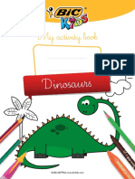 BIC-KIDS Dinosaure Activite En