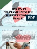 Constantino Parente Castillo - Tips en el tratamiento de Hipertensión, Parte II
