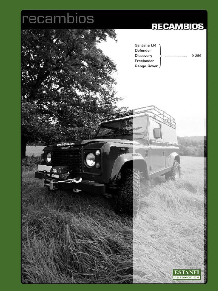 Land Rover Discovery 1 Kit de Montaje almohadilla de FRENO DELANTERA VENTILADA-STC8575
