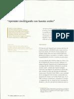 Fabio Castro. Aprender Investigando. (1)
