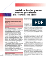 Anestésicos Locales - Rang and Dale