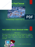 Past and Future Simple Tense