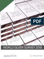 2018 World Silver Survey