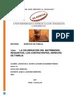 Trabajo de Expositivo de Derecho de Familia
