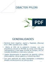 Helicobacter pylori actualizacion