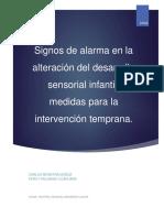 Signos de alarma en la alteración del desarrollo sensorial infantil V1.0.docx