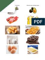 Alimentos Que Contengan Proteinas