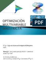 OPTIMIZACIÓN MULTIVARIABLE IRRESTRICTAmodif.pptx