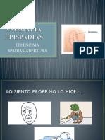 ANOMALIA       EPISPADIA