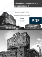 Análisis de obra UNAM y Cayenne