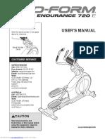 Manual Bicicleta Eliptica