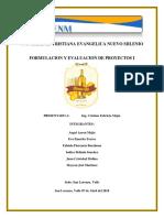 Informe Vino de Nance