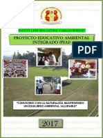 Proyecto Educativo Ambiental Integrado - 2017