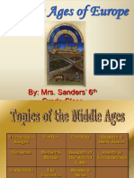 Middle Ages of Europe - Si
